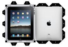 Blog Paper Toy papercraft iPad Cubee template preview Un iPad en papercraft (x 2)