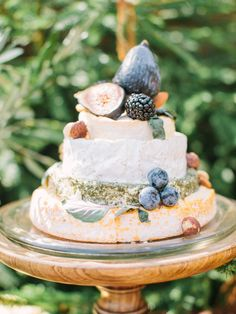 cake made of cheeses