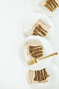 hazelnut cake with c