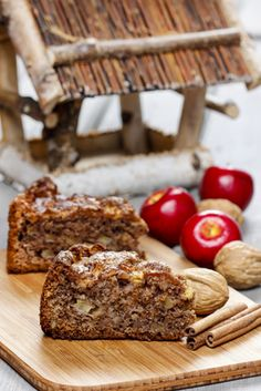 Applesauce Cake With Nuts and Raisins   Hillbilly Housewife