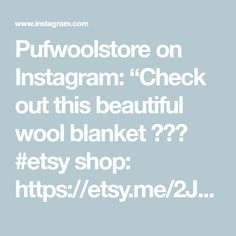 Wool Blanket, Bedding, Graduation, Etsy Shop, Bedroom, Grey, Check, Instagram Posts, Shopping