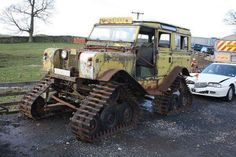 rollerman1:  63 Land Rover series II A on tracks