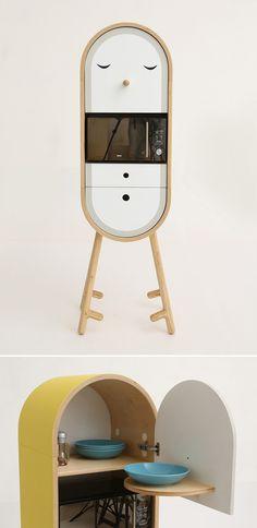 LOLO - artnau   artnau - Capsular Micro Kitchen by Aotta Studio