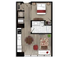 ONE BEDROOM APARTMENT RENTALS IN MIDTOWN ATLANTA  A one-bedroom apartment rentals should include a bedroom with a closet and a door that closes (along with a window), a separate living room area, at least one separate bathroom many luxury one-bedroom apartment rentals styles include an...