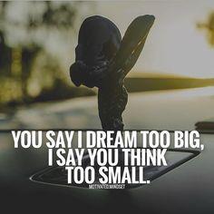 """kijiji lavoro  #Kijiji #allaricercadiunlavoro #disoccupazione #italia You say """"I dream too big"""" I say 'you think too small"""""""