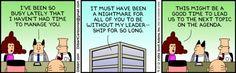 Good leaders make themselves dispensable.