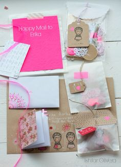 Happy Mail Project: letter to Erika ♥ | Ishtar Olivera