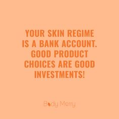 Skincare Regime is a bank account skincare quotes, beauty investments, quality products Skin Tips, Skin Care Tips, Natural Beauty Quotes, Skins Quotes, V Instagram, Care Quotes, The Body Shop, Natural Skin Care, Beauty Skin