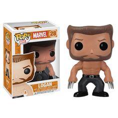 The Wolverine Logan Marvel Pop! Vinyl Bobble Head