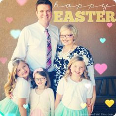 happy Easter! - The House of Smiths #photo #rhonnadesigns #lenslight
