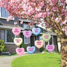 Valentines Day Food, My Funny Valentine, Valentine Day Crafts, Valentine Tree, Valentine Gifts Ideas, Valentine Candy Hearts, Saint Valentine, Holiday Crafts, Holiday Ideas