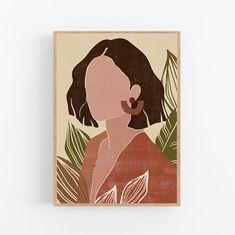 Small Canvas Art, Diy Canvas, Arte Indie, Minimal Art, Wal Art, Posca Art, Printable Wall Art, Art Inspo, Line Art