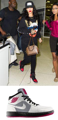 Retro Sneaks:  Rihanna #InStyle