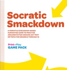 Socrative Smackdown: A versatile discussion-based humanities game to practice argumentation around any text or topic for grades 6 through 12. Download the free 23-page PDF here:...