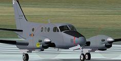 Beech King Air C90 FAE,Actualmente las Beech King Air C90 FAE operan en el Centro Cartográfico y Fotográfico del Ejército del Aire (409 Escuadrón de Fuerzas