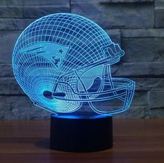 NFL NEW ENGLAND PATRIOTS 3D LED LIGHT LAMP