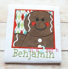Gingerbread Box Applique - 5 Sizes! | Christmas | Machine Embroidery Designs | SWAKembroidery.com The Itch 2 Stitch