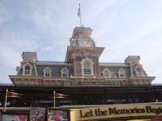Disney Model Train Station | Camera Data