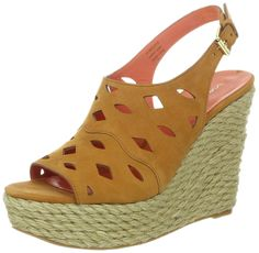 Via Spiga Women's Katrina Wedge Sandal -- Awesome product. Click the image : Wedges Shoes Wedge Sandals, Wedge Shoes, Shoes Heels, Winter Shoes, Summer Shoes, Street Style Shoes, Latest Shoe Trends, Shoe Collection, Fashion Shoes