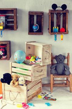 Cómo ordenar y decorar con cajas de madera - Contenido seleccionado con la ayuda de http://r4s.to/r4s