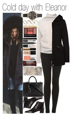 """""""• Cold day with Eleanor"""" by dianasf ❤ liked on Polyvore featuring Acne Studios, Topshop, Rick Owens, ONLY, ASOS, Dolce&Gabbana, Olivia Burton, Casetify, Guerlain and Giorgio Armani"""