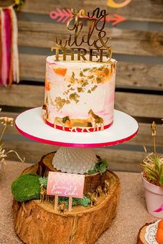 Show us your party – Enaya's 'young, wild and three' birthday