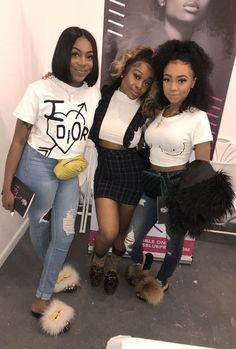 for more popping pins add Swag Outfits, Girl Outfits, Cute Outfits, Fashion Outfits, Matching Outfits Best Friend, Best Friend Outfits, Bff Goals, Best Friend Goals, Squad Goals