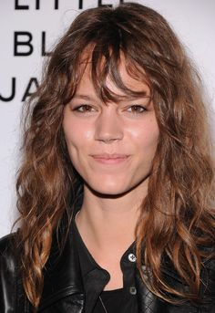 The 30 Most Iconic Bangs of All Time - Freja Beha Erichsen rocking curly-girl hairs