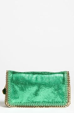 """Sprearmint"" Stella McCartney Falabella bag. Swoon."