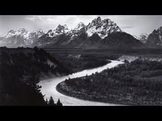 Ansel Adams, The Tetons and the Snake River, Grand Teton National Park, Wyoming, This will always be one of my favorite places. Love those Tetons. Grand Teton National Park, Yosemite National Park, National Parks, Sierra Nevada, Famous Photographers, Landscape Photographers, Art Wolfe, Ansel Adams Photography, Kunsthistorisches Museum