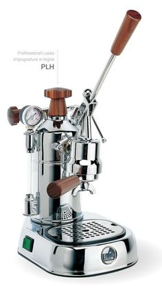 La Pavoni PLH Professional - the Ferrari of coffee makers - now available from proskitchensupply...