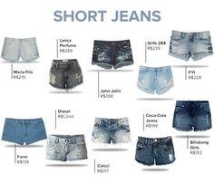 LISTA DE PRODUTOS - Short Jeans (Foto: EGO)
