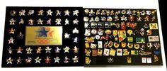Vintage 1984 Olympics LA Pin Lot ABC McDonald Atari Bud Miller Fuji Sunoco Coke