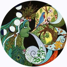 """Mother Nature"" by Heather Moyer  www.hmartisticcreations.com"