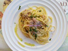 Foodie in Translation: Spaghetti con la ventresca di tonno