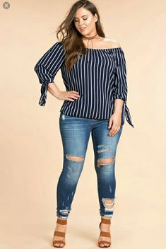 Top Stylish Casual Plus Size Outfits That Will Make You Awesome Plus Size Blouses, Plus Size Dresses, Plus Size Outfits, Fall Outfits, Casual Outfits, Cute Outfits, Fashion Outfits, Womens Fashion, Fashion Wear