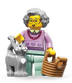 Grandma - series 11... I found the Lego version of me!!