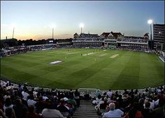 Trent Bridge cricket ground - been there! In fact, was there when England won the match and therefore the Ashes in 2005. Absolutely ***awesome***.