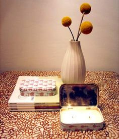 diy project: kate's tin travel candle