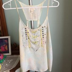 Silence + noise Pastel Studded Cami In stock: Size XS & M (Urban Outfitters) silence + noise Tops