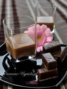 Likier czekoladowo- karmelowy z whisky