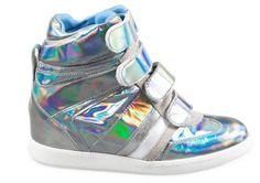 Sneakers laminate dalla collezione primavera estate 2013 di Serafini.