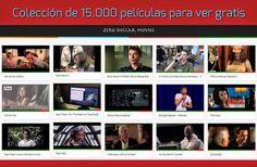 Colección de 15 mil películas gratuitas de Youtube
