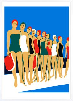 Virginie Morgand La Piscine Print – Outline Editions