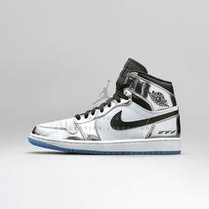 Air Jordan I Retro High OG Chrome   White — Black 33db1803560