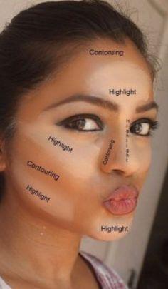 Have you heard of makeup contouring? It is a process of Haben Sie von Makeup Contouring gehört? Es ist ein Prozess des Hervorhebens, Bronzins … – Make-up Geheimnisse Have you heard of makeup contouring? It& a process of highlighting, bronze … have - Makeup Contouring, Contouring And Highlighting, Contouring Guide, Applying Makeup, Makeup Brushes, Contouring For Beginners, Strobing, Makeup Blending, Makeup Eyes