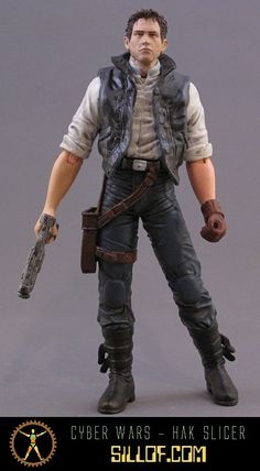 Y'know, Han Solo in cyberpunk looks basically the same as he does in real life. I guess he was just cyberpunk to begin with. =P