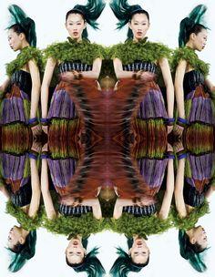 Angie Ng - The Model: Gorgeous Magazine - Kaleidoscope