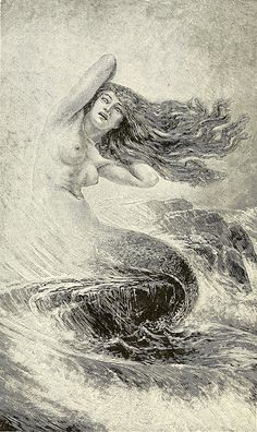 "Otto Sinding (1842-1909), ""Mermaid """