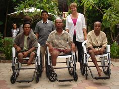 Globe Aware Volunteer Vacations  Cambodia Wheelchair Project Volunteer Services, Teaching English, Cambodia, Helping People, Vacations, Baby Strollers, Globe, Have Fun, Medical